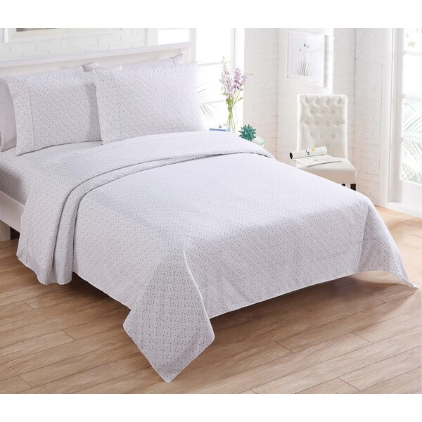 Astra 200 Thread Count 100% Cotton Sheet Set by Wrought Studio